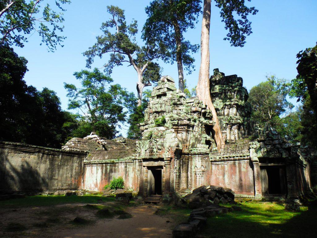 Ankor Wat - Reisroute Cambodja