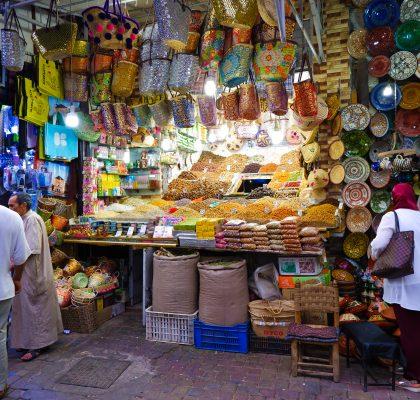 souks-marrakech-reisroute-marokko