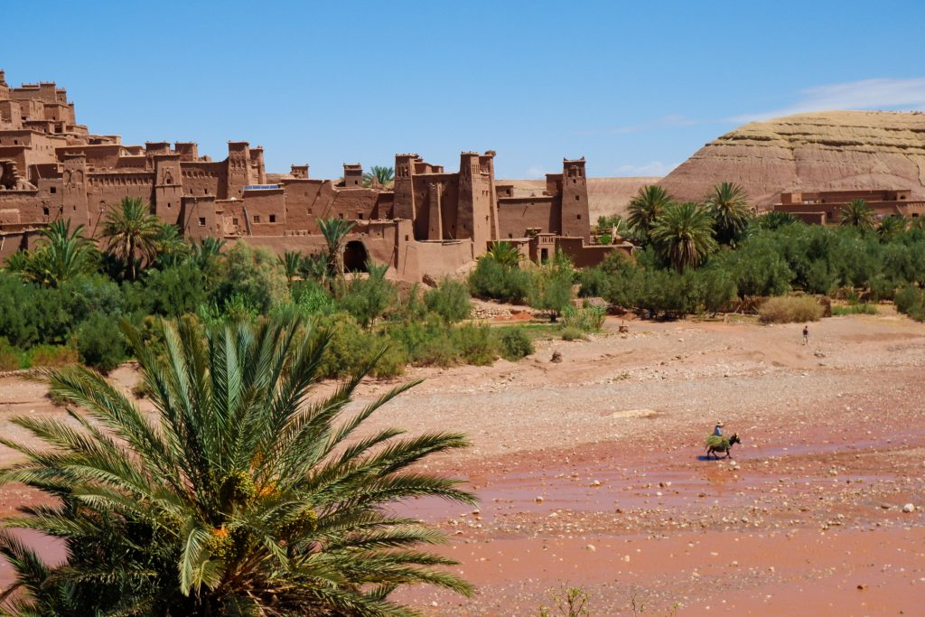 Kashbah Ait Ben Hadou - Reisroute Marokko