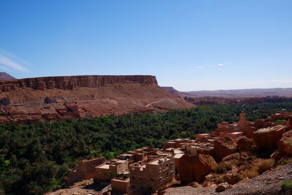 Oasis of Tinghir - Reisroute Marokko