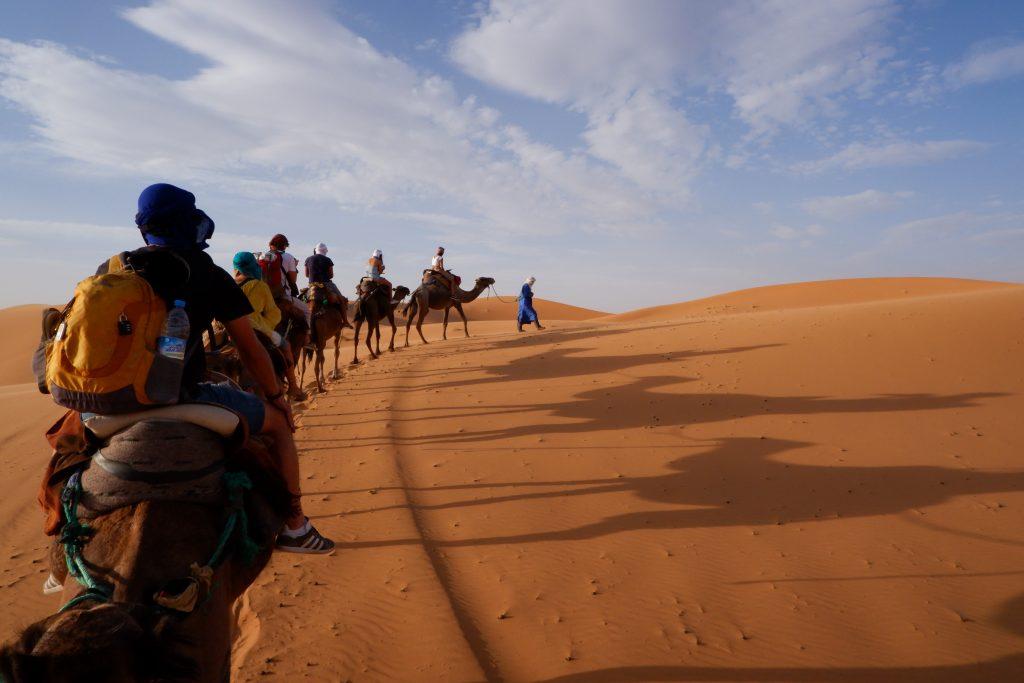 Dessert Tour - Reisroute Marokko