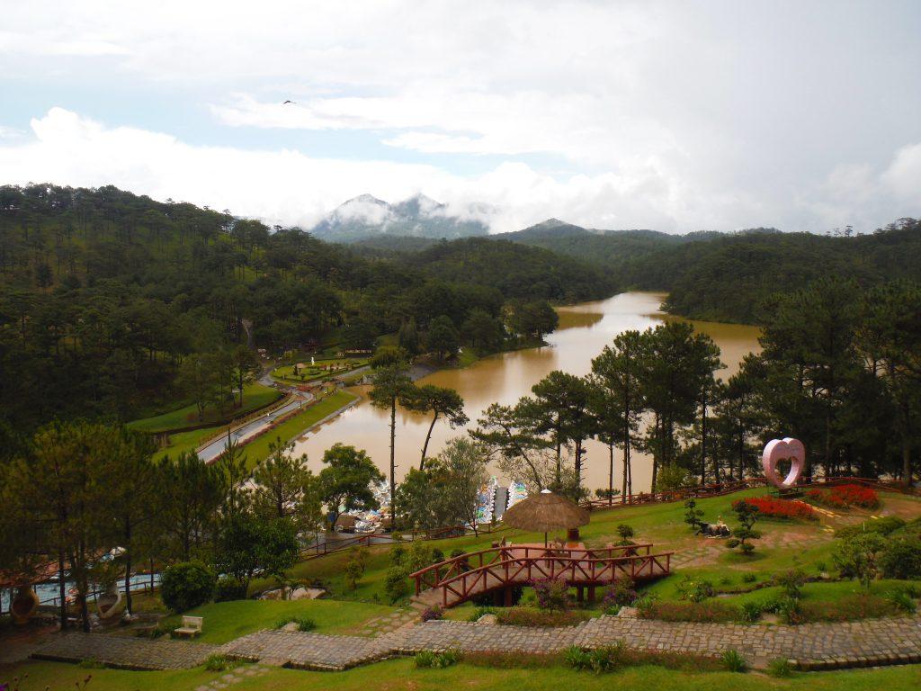 Dalat - reisroute Vietnam