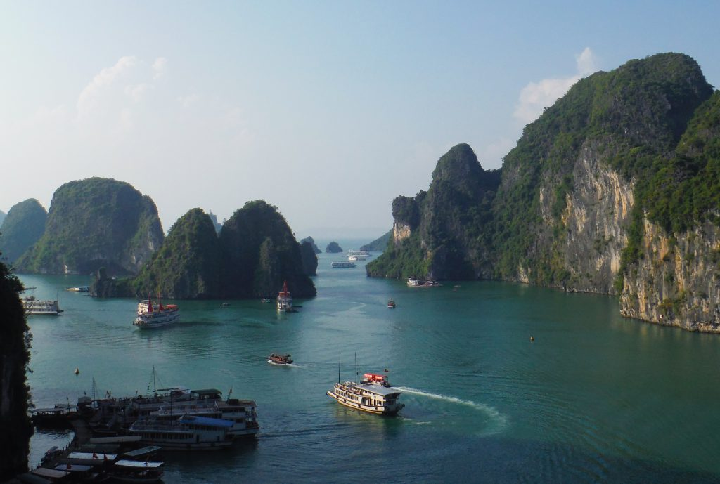 Ha Long Bay - reisroute Vietnam