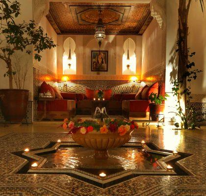 riad- marrakesh - reisroute marokko
