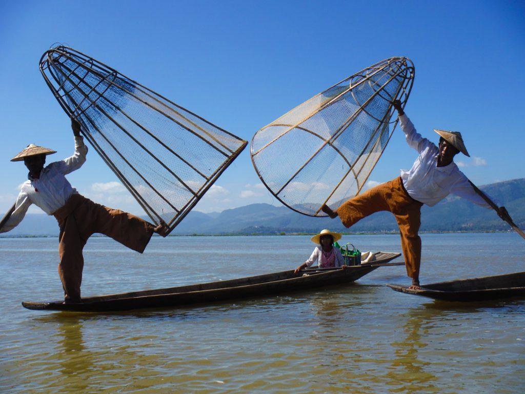 Inle Lake reisroute Myanmar