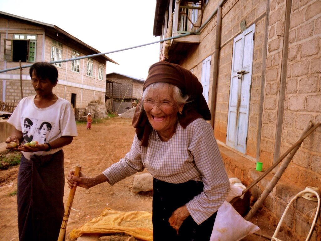 Kalaw hike reisroute Myanmar