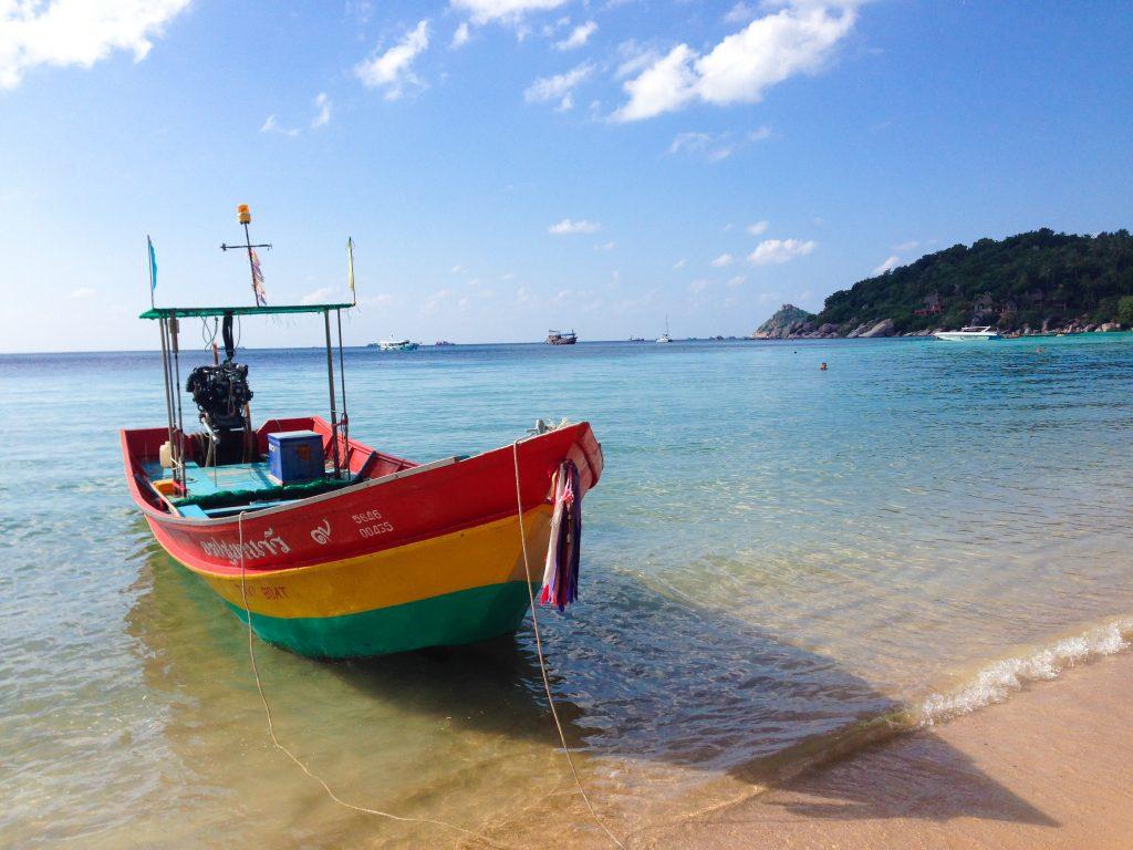 Koh Tao - reisroute Thailand