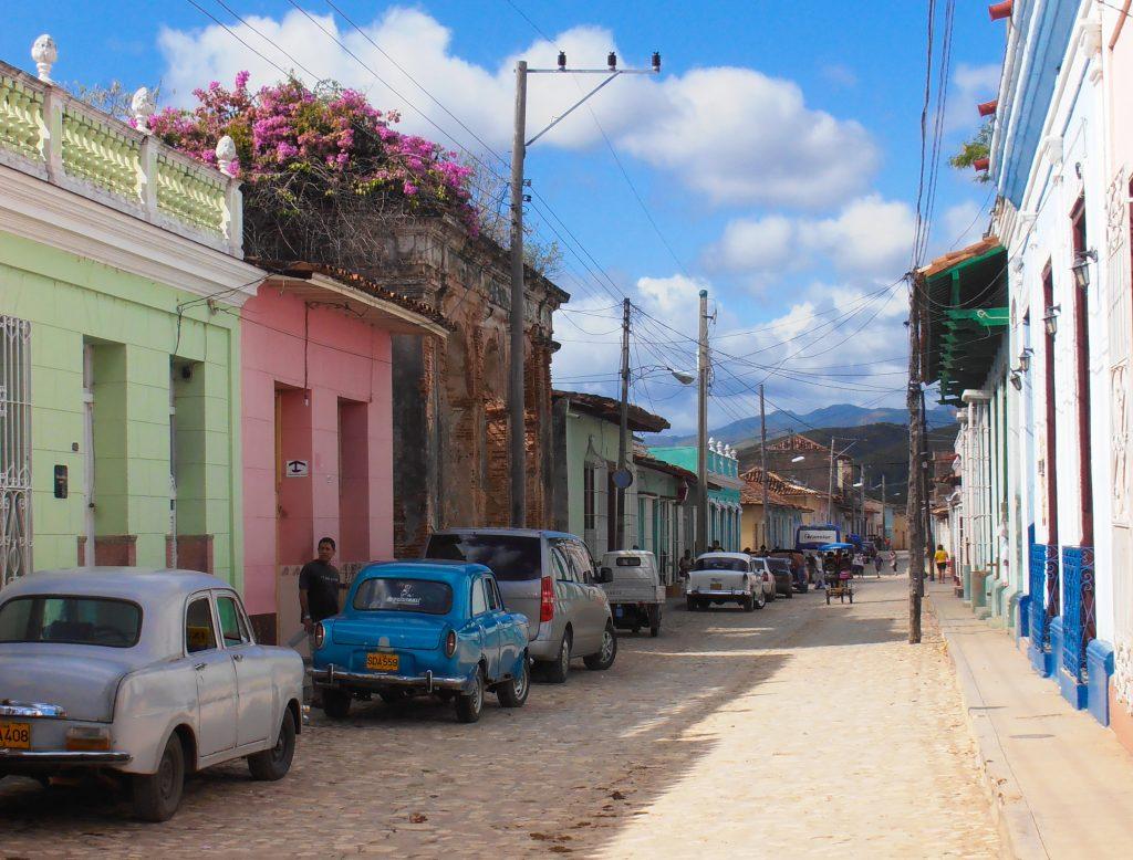 Trinidad - reisroute Cuba