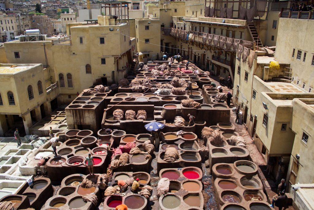 Fez -Reisroute Marokko
