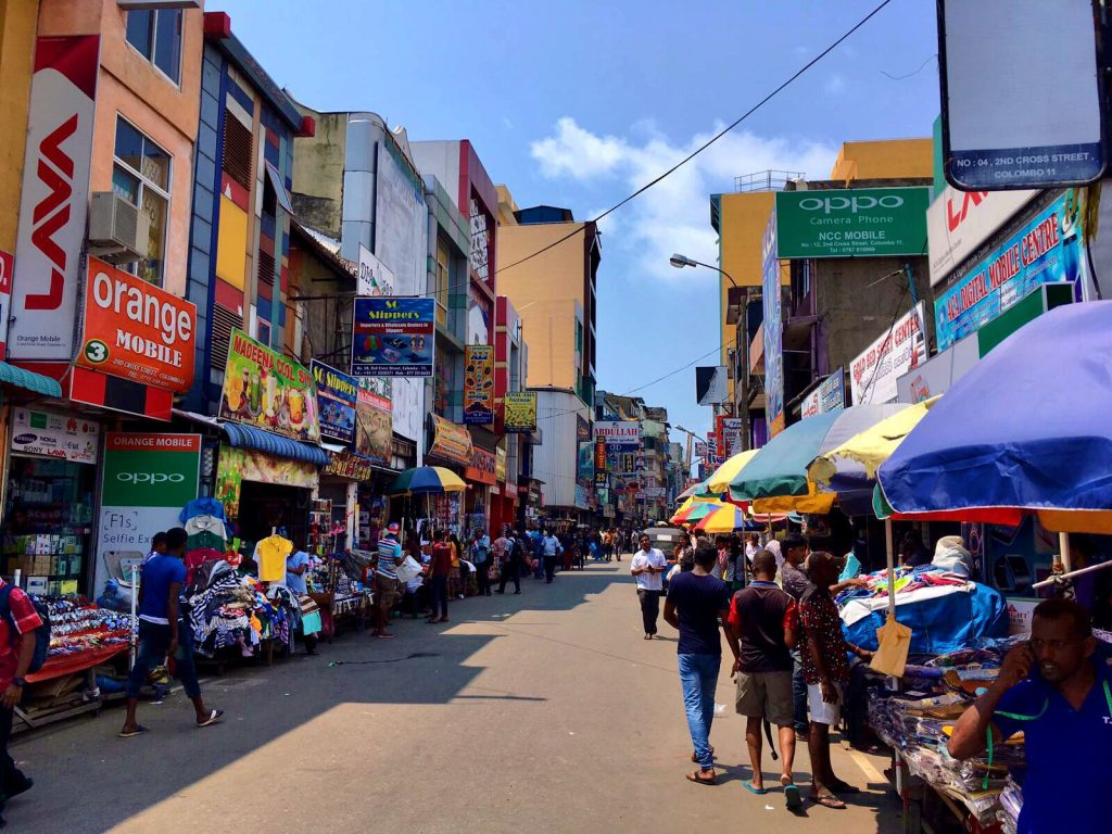 Colombo - Reisroute Sri Lanka