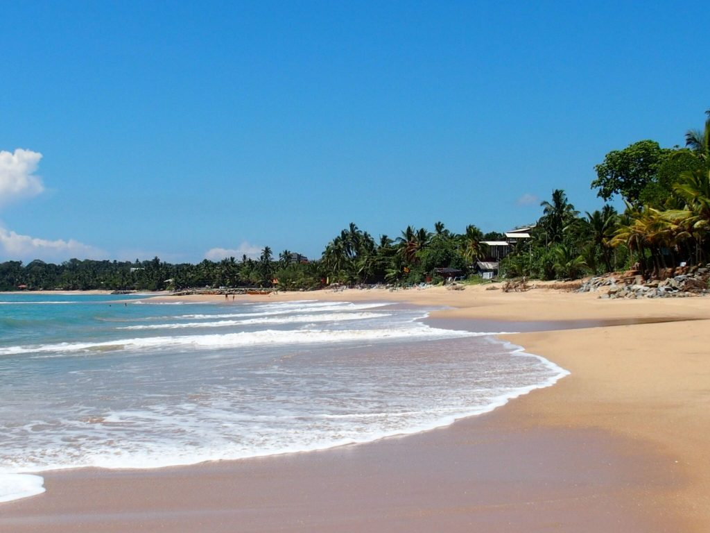 Tangalle - Reisroute Sri Lanka