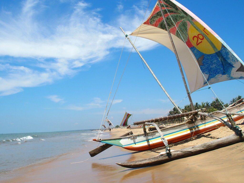 Negombo - Reisroute Sri Lanka
