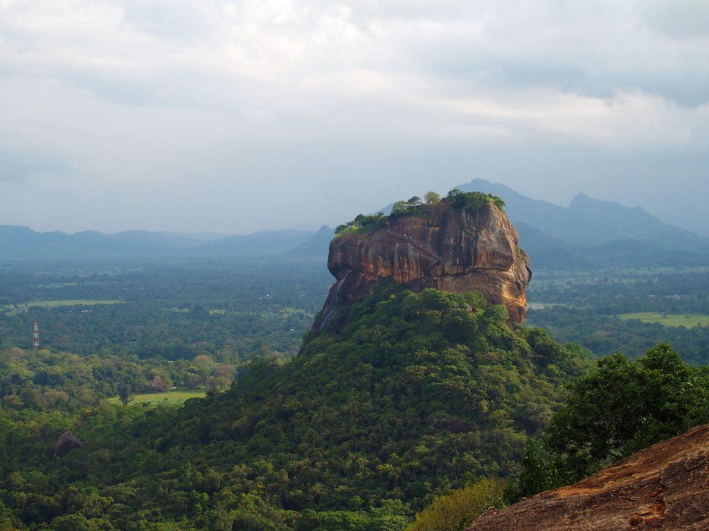 Lion Rock - Sigirya - Reisroute Sri Lanka