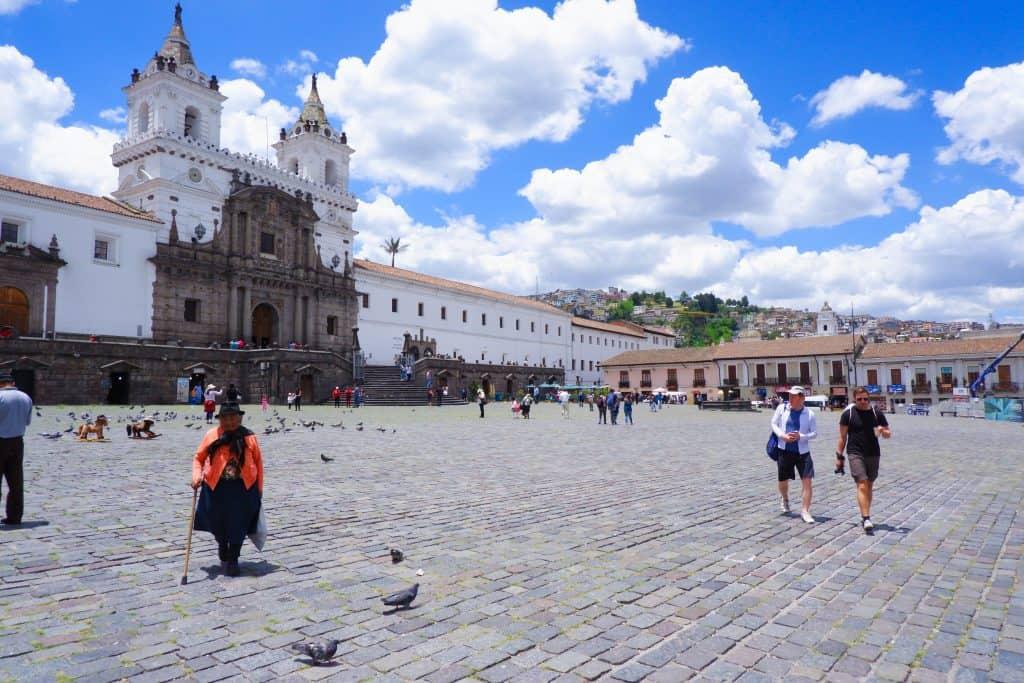 Quito Ecuador rondreisroute