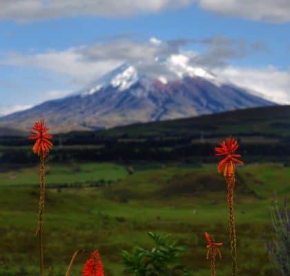cotopaxi Ecuador rondreisroute
