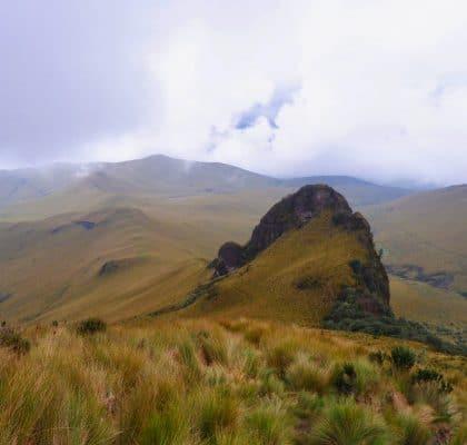 Cotopaxi pasochoa Ecuador rondreisroute