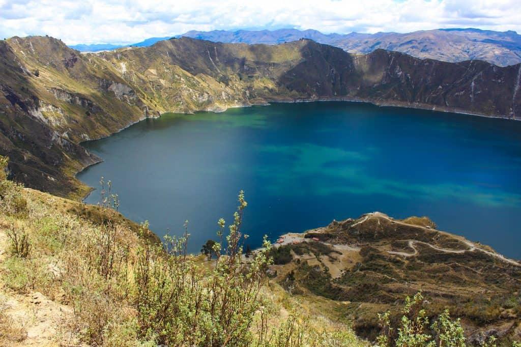 Quilotoa reisroute Ecuador