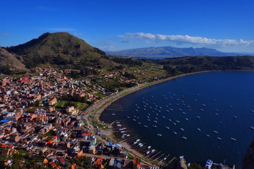 Rondreisroute bolivia copacabana uitzicht