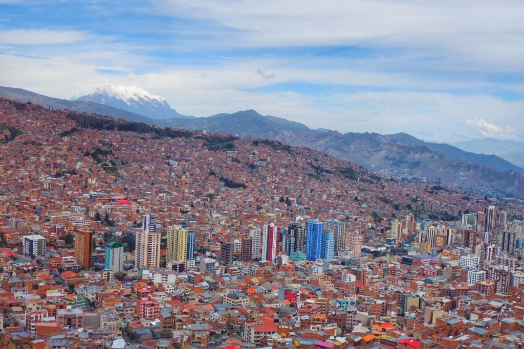 Rondreisroute Bolivia La Paz